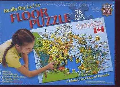 Map Of Canada Puzzle.Jigsaw Puzzles Maps Of Canada